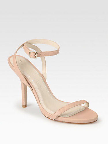 Elizabeth and James Toni Leather Ankle Strap Sandals