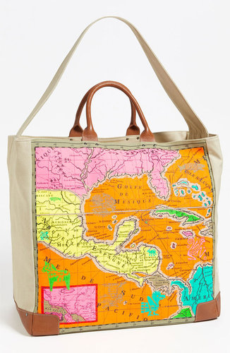 Echo 'Map of Mexico' Tote Bag