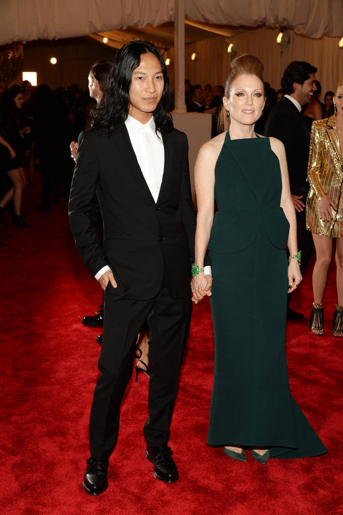 Alexander Wang and Julianne Moore