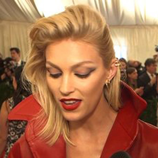 Anja Rubik Used to be a Goth: She Explains at the Met Gala