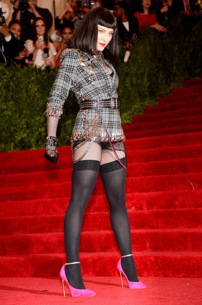 Madonna at the Met Gala 2013.