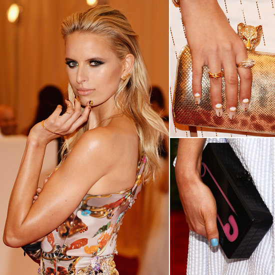 Celebrity Nail Artist: Pictures Of Celebrity Nails From The Met Gala