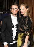 Brad Goreski and Rosie Huntington-Whiteley. Source: Neil Rasmus/BFAnyc.com