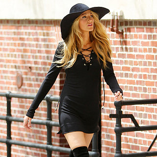 Blake Lively at a Photo Shoot in NYC