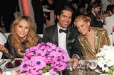 Designer Brian Atwood sat with Stacy Keibler and Elizabeth Banks at the Met Gala dinner.  Source: Billy Farrell/BFANYC.com
