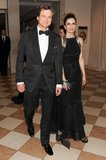 Colin Firth and Livia Giuggioli walked inside the Met Gala hand in hand.  Source: Billy Farrell/BFANYC.com