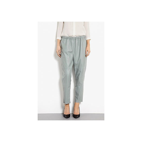 I'm all about pants this Autumn/Winter. These lamb leather trousers are perfect for wearing with all my stupidly high shoes and baggy jumpers. Stone to the bone. — Alison, beauty and health & fitness editor Pants, approx $662, at Bruuns Bazaar at My Wardrobe