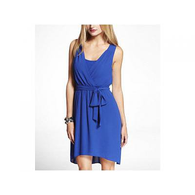 blue graduation dress