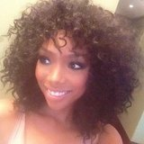 Brandy Norwood showed off her gorgeous curls. Source: Instagram user 4everbrandy