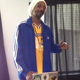 Snoop Lion wore his Lakers gear for an online chat with Mashable. Source: Instagram user snoopdogg