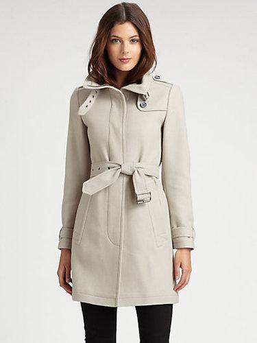 Burberry Brit Wool-Blend Coat