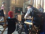 Marc Webb consulted a special guest on the set of The Amazing Spider-Man 2. Source: Twitter user MarcW