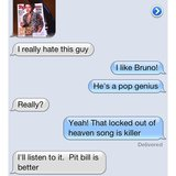 According to some moms, Pitbull > Bruno Mars. Source: Instagram user hernameisali