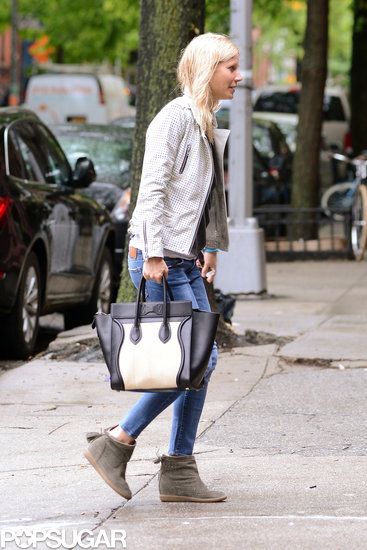 Gwyneth Paltrow carried a Céline bag.
