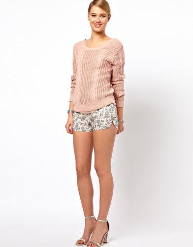 Selected Dina Paisley Shorts
