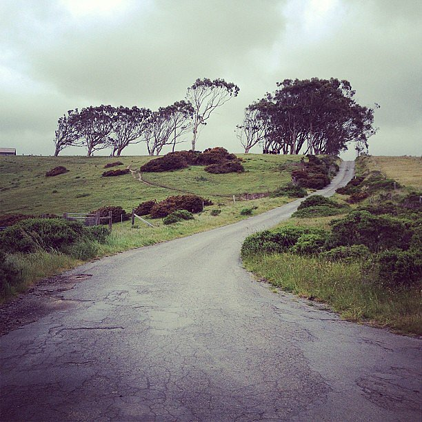 Our fitness director Susi May took this shot while on a ride in Sonoma, CA. She just beat the rain! Source: Instagram user susimay