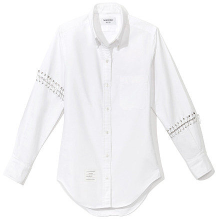 Thom Browne Oxford Armed Shirt