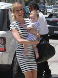 Kristin Cavallari had her first baby, Camden, with Jay Cutler in August 2012.