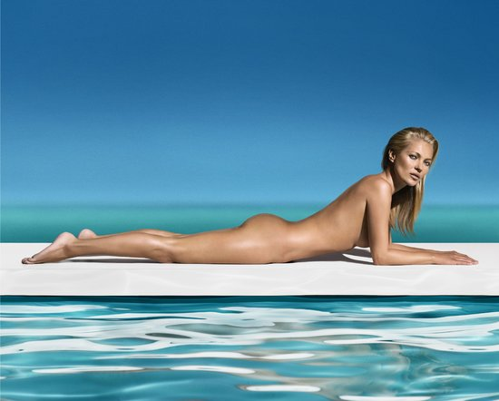 First Look: Kate Moss Is the New Face of St. Tropez!