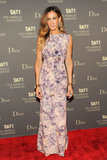 Sarah Jessica Parker attended the artsy affair.