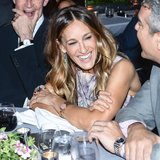 Sarah Jessica Parker shared a laugh with Andy Cohen. Source: Joe Schildhorn /BFAnyc.com