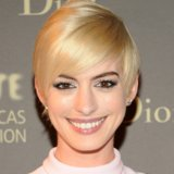 Anne Hathaway Blonde Hairstyles