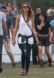 You don't need to be strolling the Coachella grounds to score Jessica Alba's 7 For All Mankind ripped skinny jeans ($172, originally $214. Just add a tank and your favorite sandals to create your own concert ensemble. Enter code MOMMYDEAREST to get 20 percent off.