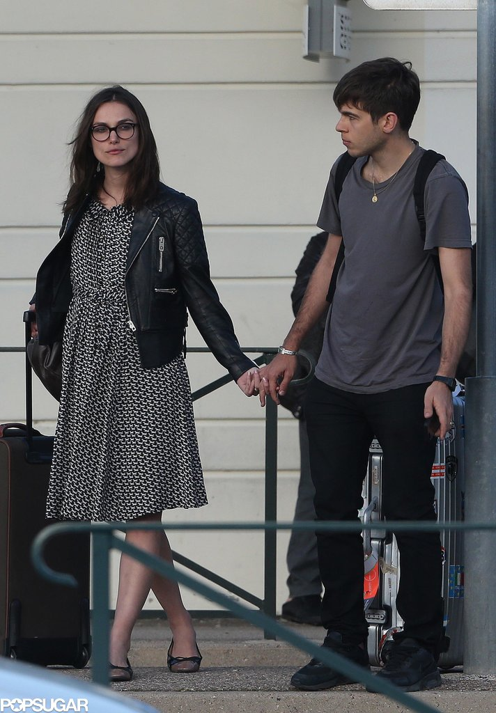 James Righton and Keira Knightley kicked off their honeymoon.