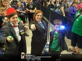 Wil Wheaton spotted this adorable Whovian family trio at Ottawa Comiccon.
