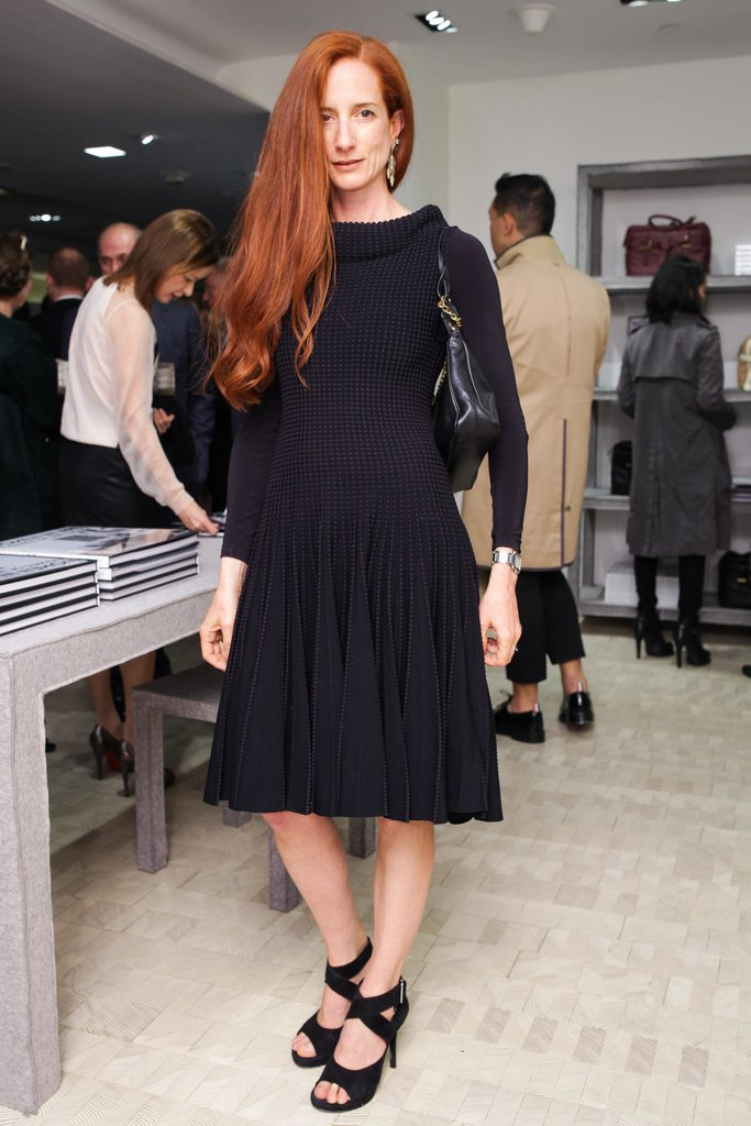 Vanessa Friedman at Reed Krakoff and Bergdorf Goodman's celebration of the Women in Art book release in New York. Source: Angela Pham/BFAnyc.com