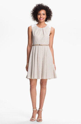 Vince Camuto Lace Fit &amp; Flare Dress