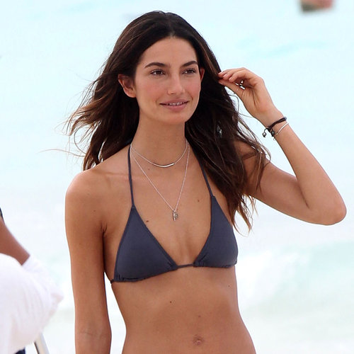 Lily Aldridge in a Bikini in St. Barts | Photos