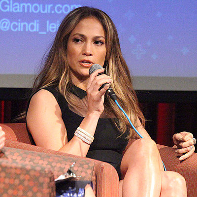 Jennifer Lopez at United Nations Foundation Mom Event