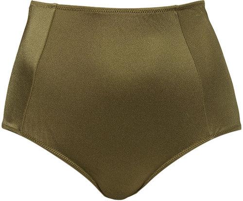 Olive High Waisted Pants