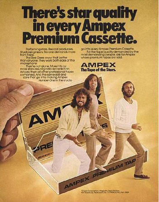 Cassette by Ampex