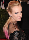 Diane Kruger's pink ends and navy eyes