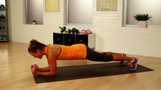 One-Minute Bikini-Body Challenge: Push-Up Walks