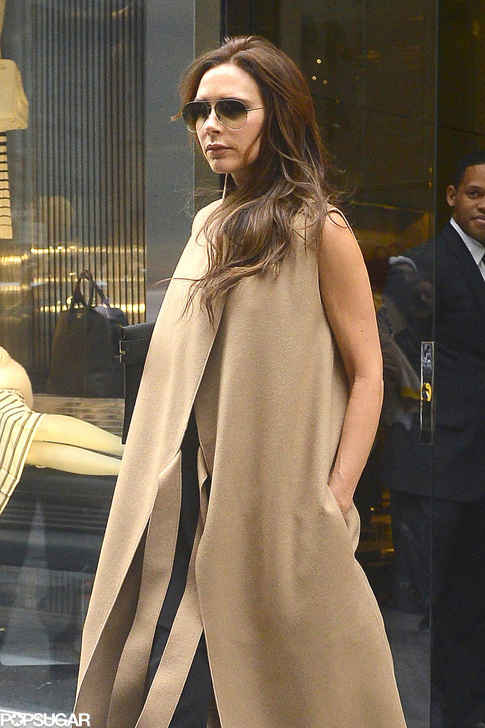 Victoria Beckham shopped around NYC.