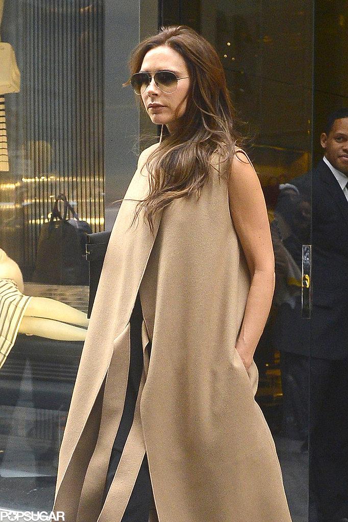 Victoria Beckham shopped around NYC.