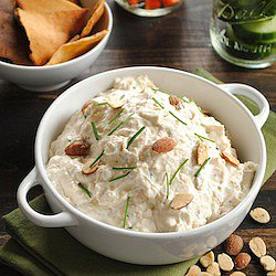 Roasted Garlic &amp; Almond Dip