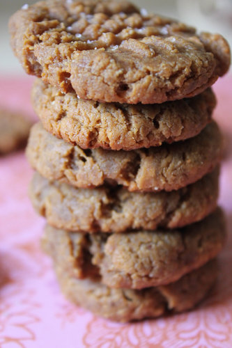 4 Ingredient Peanut Butter and Banana Cookies!