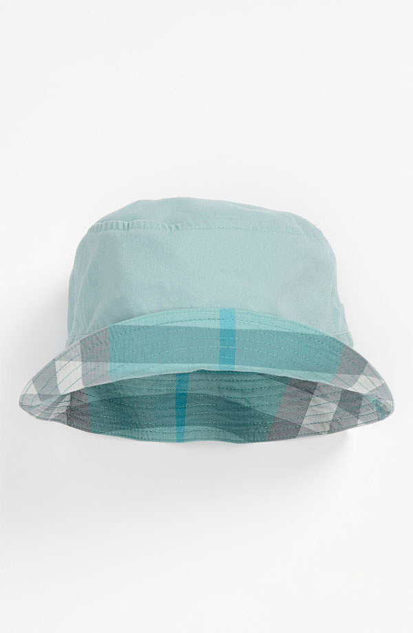 Get your designer-dud fix with Burberry's Channing Hat ($60) featuring the brand's iconic check.