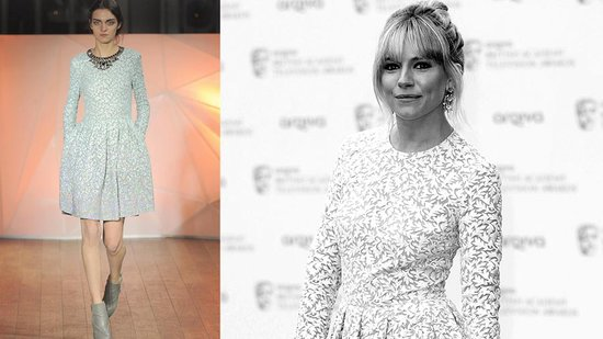 Sienna Miller Looks Summery and Sweet in Seafoam