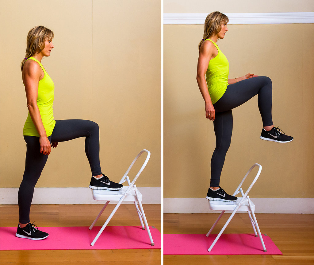 5. Chair Step-Ups