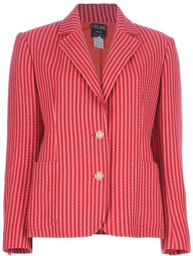 Cline Vintage striped blazer