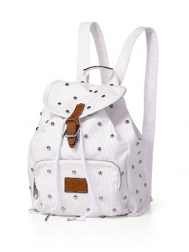 PINK Studded Mini Backpack