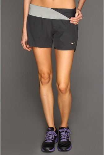 Nike - Four-Inch SW Nike Rival Short (Anthracite/Dark Grey Heather/Anthracite/Metallic Red Bronze) - Apparel