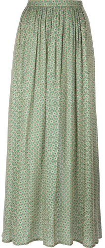 Attic And Barn 'Noelia' pleated maxi skirt