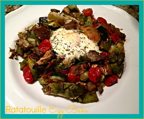 Ratatouille Egg Bake