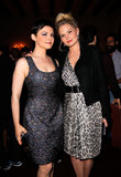 Ginnifer Goodwin and Jennifer Morrison joined guests at the Vogue and MAC Cosmetics dinner.
